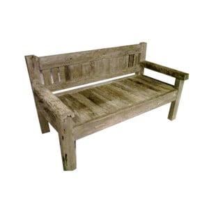 Lavice z teakového dřeva HSM Collection Bea