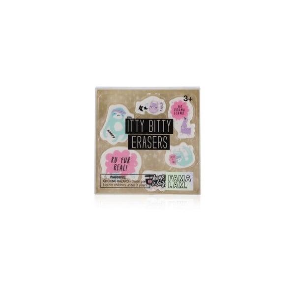 Sada mini gum npw™ Famalam Mini Erasers