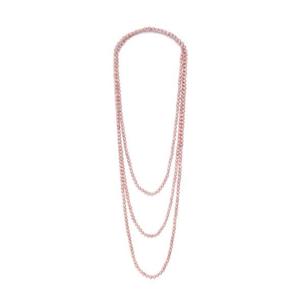 Náhrdelník z růžových perel GemSeller Ajuga