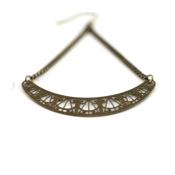 Náušnice Arch Bronze, 6 cm