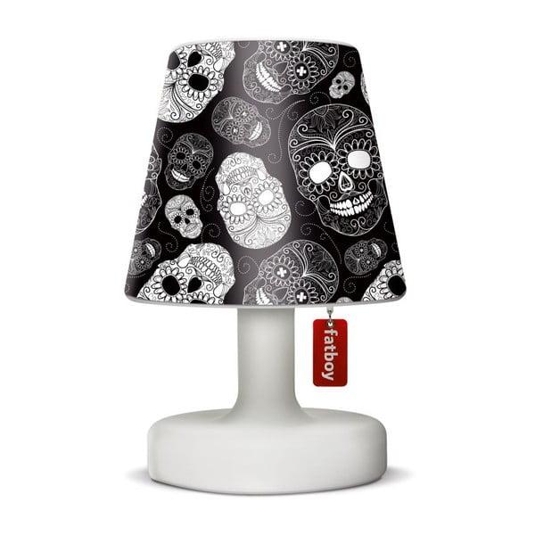 Fatboy světlo Edison Petit, 25 cm + stínítko Skull Black