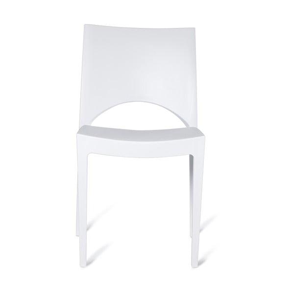 Sada 4 plastových židlí Milano