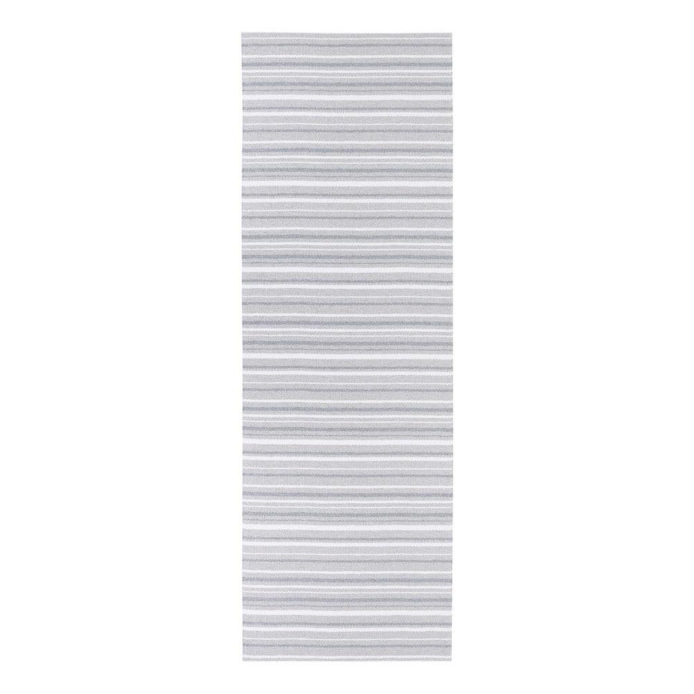 Šedo-bílý koberec vhodný do exteriéru Narma Hullo, 70 x 100 cm