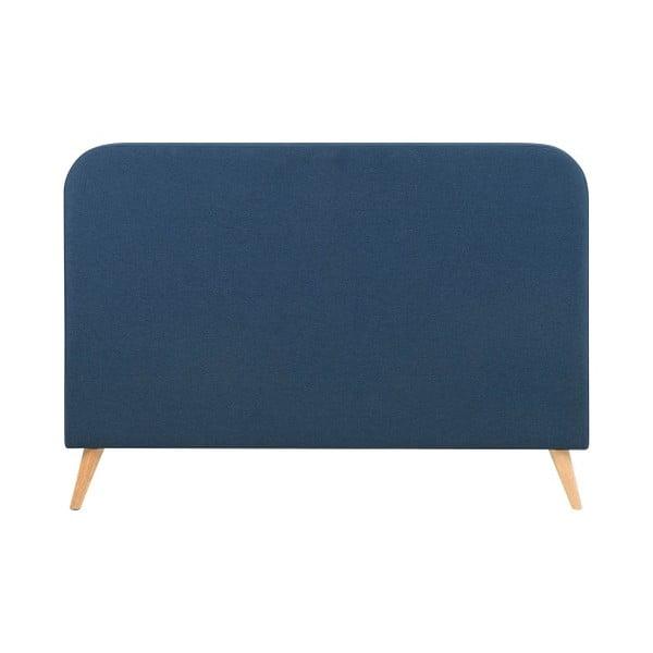 Postel Agnes, 180x200 cm, tmavě modrá