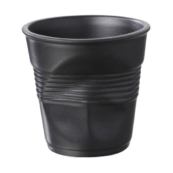 Kelímek na espresso Froisses 8 cl, saténově černý
