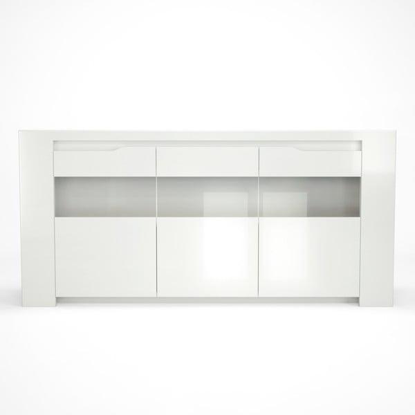 Orlando fehér tálalószekrény - Artemob