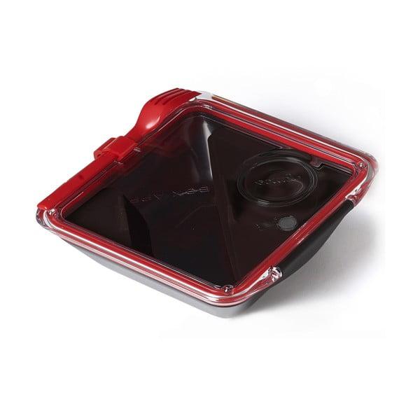 Černý svačinový box Black+Blum Apetit