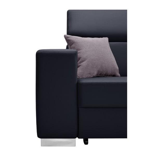 Tmavě modrá rozkládací sedačka Interieur De Famille Paris Tresor, pravý roh