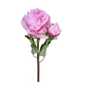 Umělá květina Ego Dekor Růžová pivoňka
