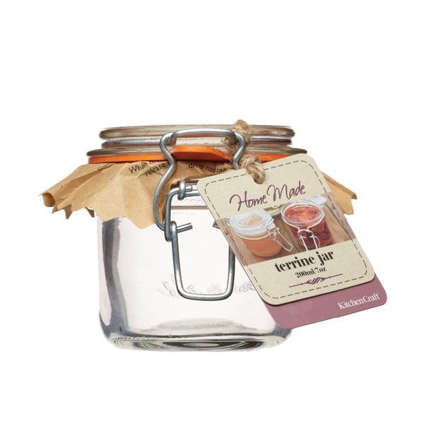 Zavařovací sklenice KitchenCraft Home Made, 200 ml