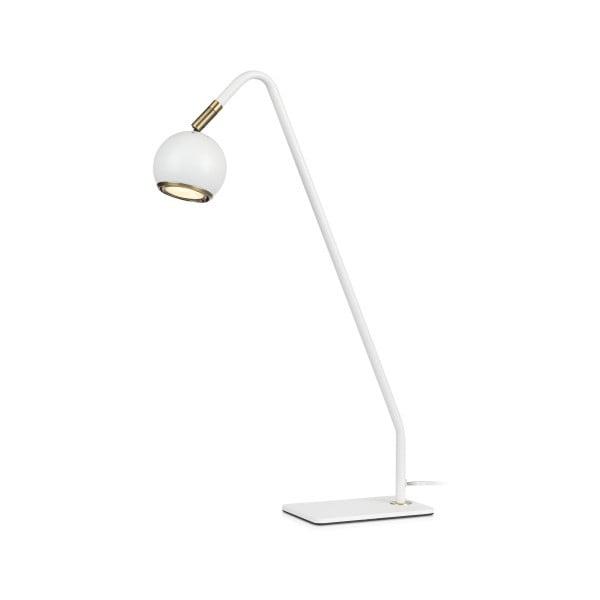 Bílá stolní lampa Markslöjd Coco, výška 47 cm