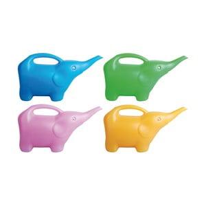 Sada 4 plastových konviček ve tvaru slona Ego Dekor