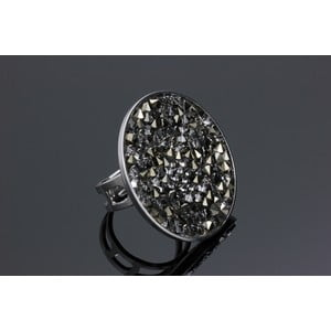Prsten Crystal Colour Swarovski Elements, univerzální velikost