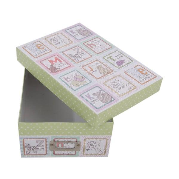 Úložná krabice Alphabet