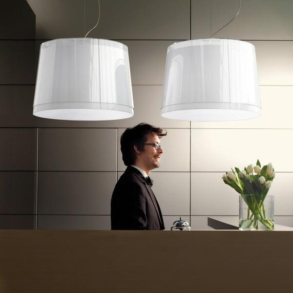 Závěsné světlo L001S/BB, bílá