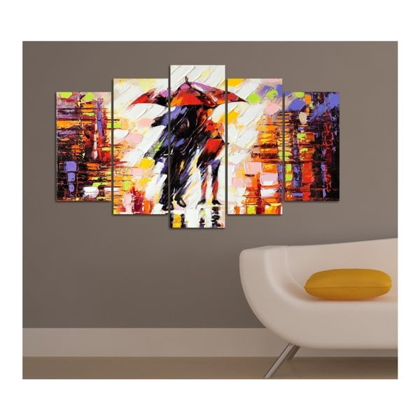 Tablou din mai multe piese Insigne Toon, 102 x 60 cm