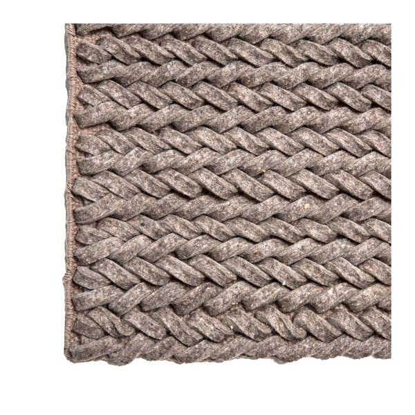 Koberec Circolare 140x200 cm, šedý