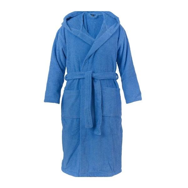 Modrý unisex župan z čisté bavlny Casa Di Bassi, S/M