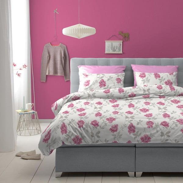Povlečení Floret Pink, 140x200 cm