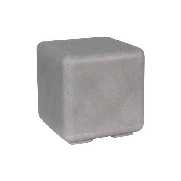 Venkovní stolek Cubo, šedý
