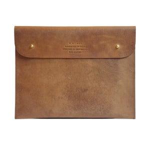 Kožené pouzdro na iPad Sleeve, velbloudí
