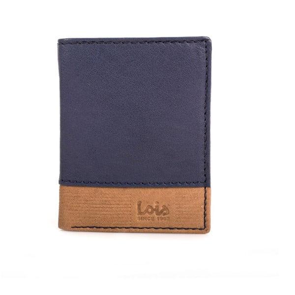 Kožená peněženka Lois Blue, 8,5x10,5 cm