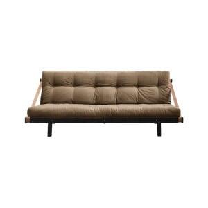 Canapea extensibilă Karup Design Jump Black/Mocca, maro