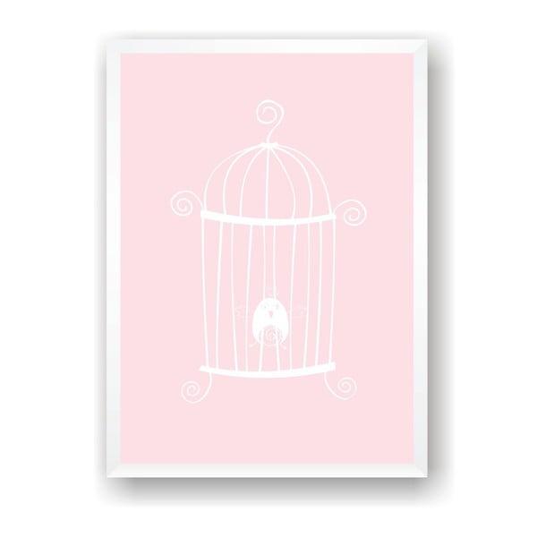 Plakát Nord & Co Caged Bird, 40 x 50 cm