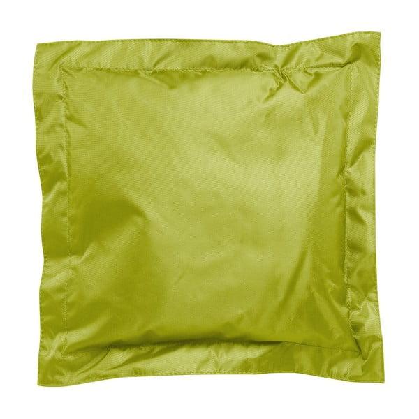 Zielona poduszka odpowiednia na zewnątrz Sunvibes, 45x45 cm