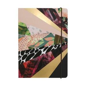 Agendă A5 Portico Designs Kaleidoscope, 160 file