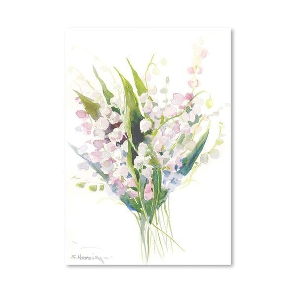 Plakát Pink Lilies od Suren Nersisyan