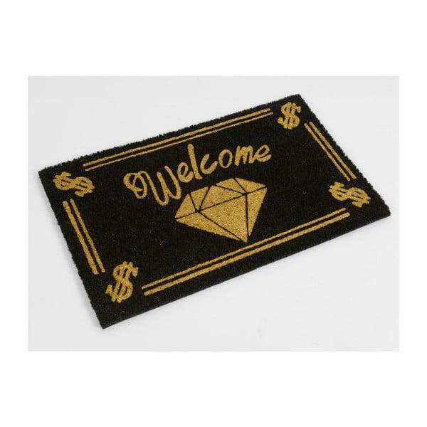 Předložka Welcome Gold, 75x45 cm