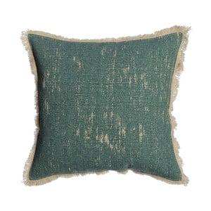 Zelený polštář Denzzo Boho, 30x30cm