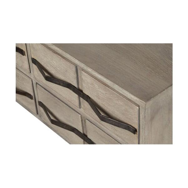 Odkládací stolek z masivního mangového dřeva Woodjam Wilson, šířka 100 cm