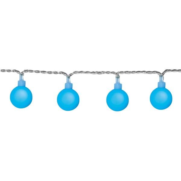 Modrý světelný řetěz Best Season Partylights Berry, 50 světýlek