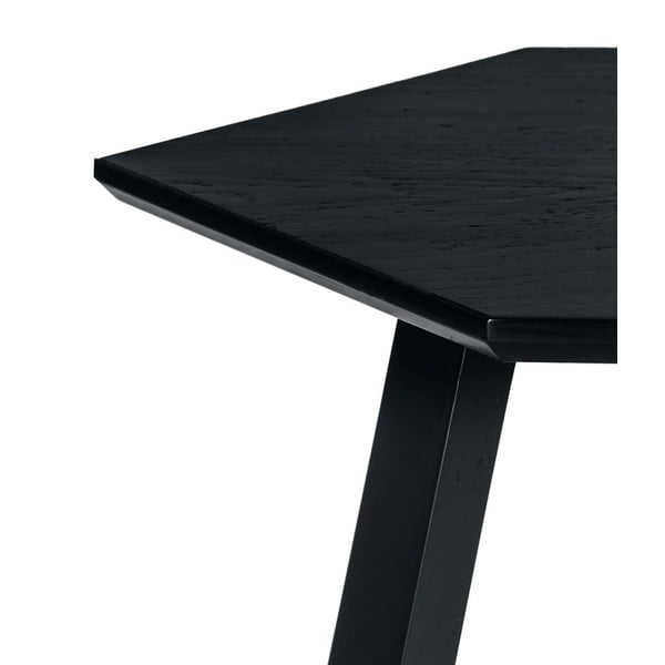 Konferenční stolek Hexagon Dark Grey, 70x37x70 cm