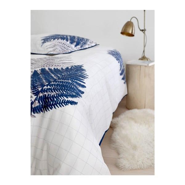Povlečení Summer Fern Blue, 140x220 cm