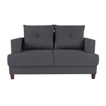 Canapea cu 2 locuri Melart Lorenzo gri închis