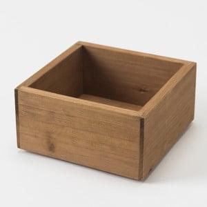 Cutie din lemn Compactor Vintage Box, 14 x 14 cm