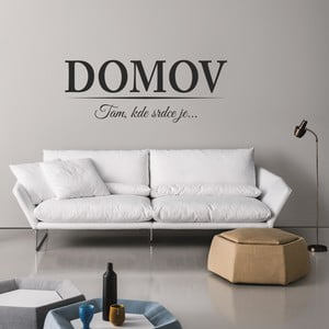 Samolepka na stěnu Wallvinil DOMOV