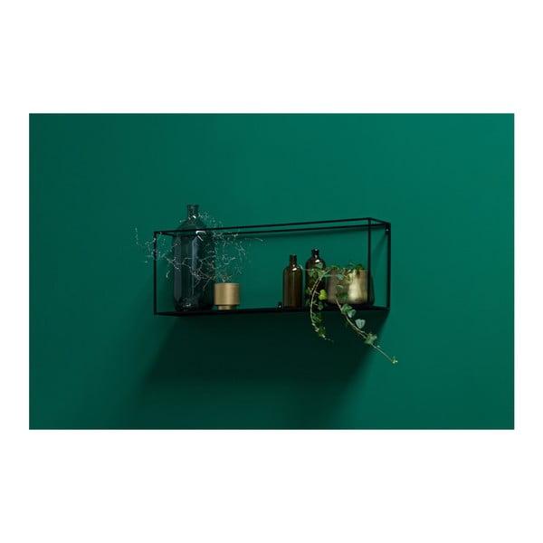 Raft pentru perete WOOOD Meert, 100 cm L, negru
