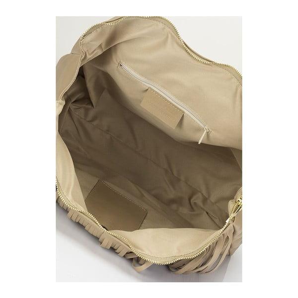 Kožená kabelka Masara, taupe