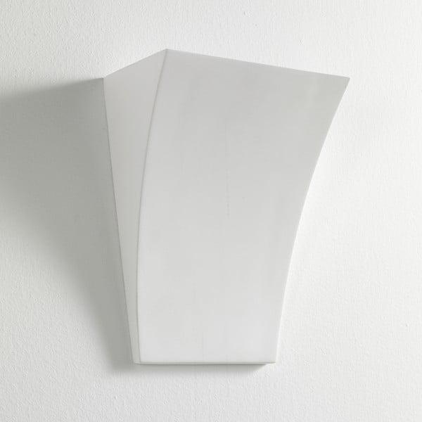 Bílá nástěnná lampa z keramiky Tomasucci Firenze