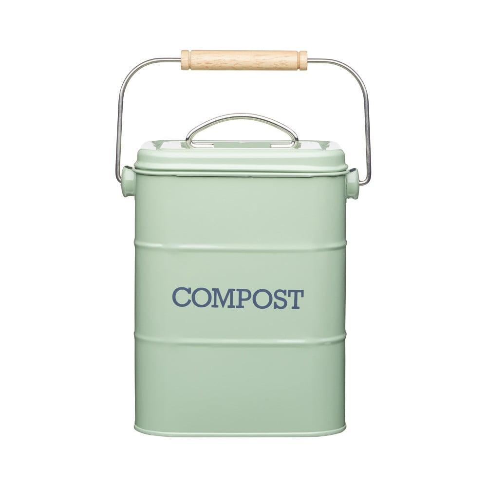 Zelený domácí kompostér Kitchen Craft Living Nostalgia, 3 l
