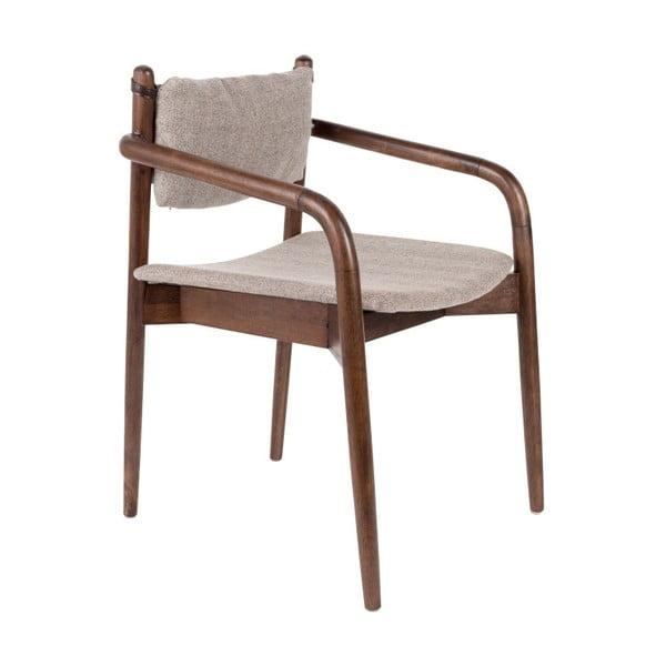 Stolička z akáciového dreva Dutchbone Torrance