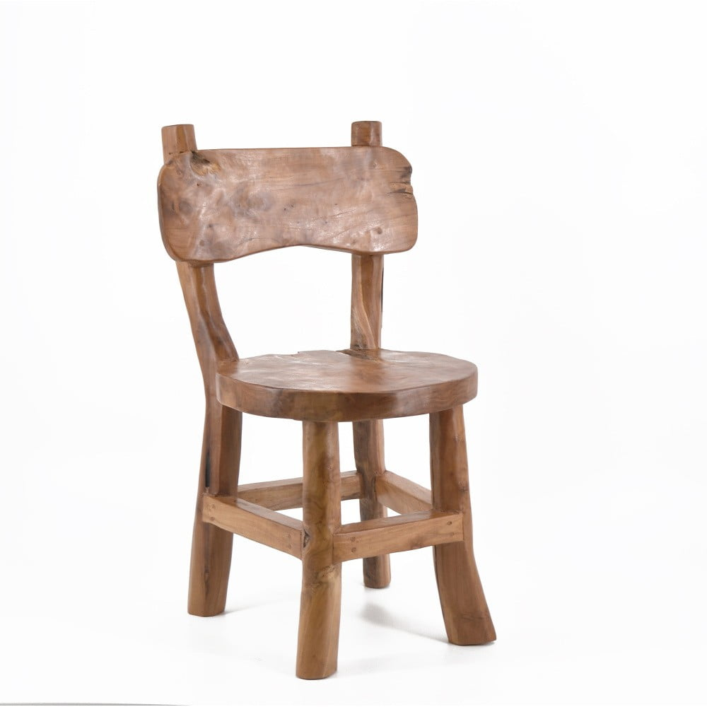 Dětská židlička z teakového dřeva Moycor Natural