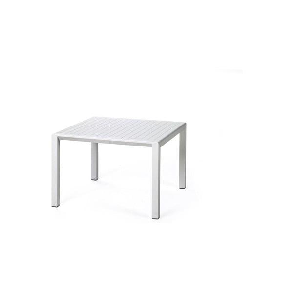 Sada 2ks křeslo Aria Bianco + stůl Aria Bianco 60 x 60 cm, bílá