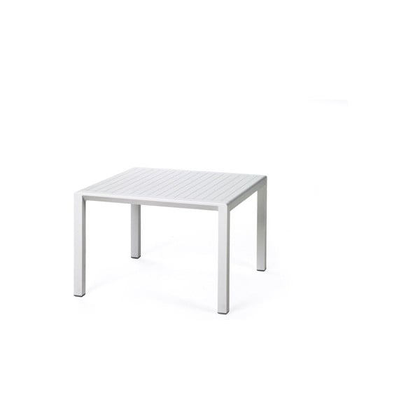 Stůl Aria Bianco, bílá, 60 x 60 cm