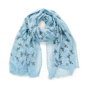 Světle modrý šátek Art of Polo Sula