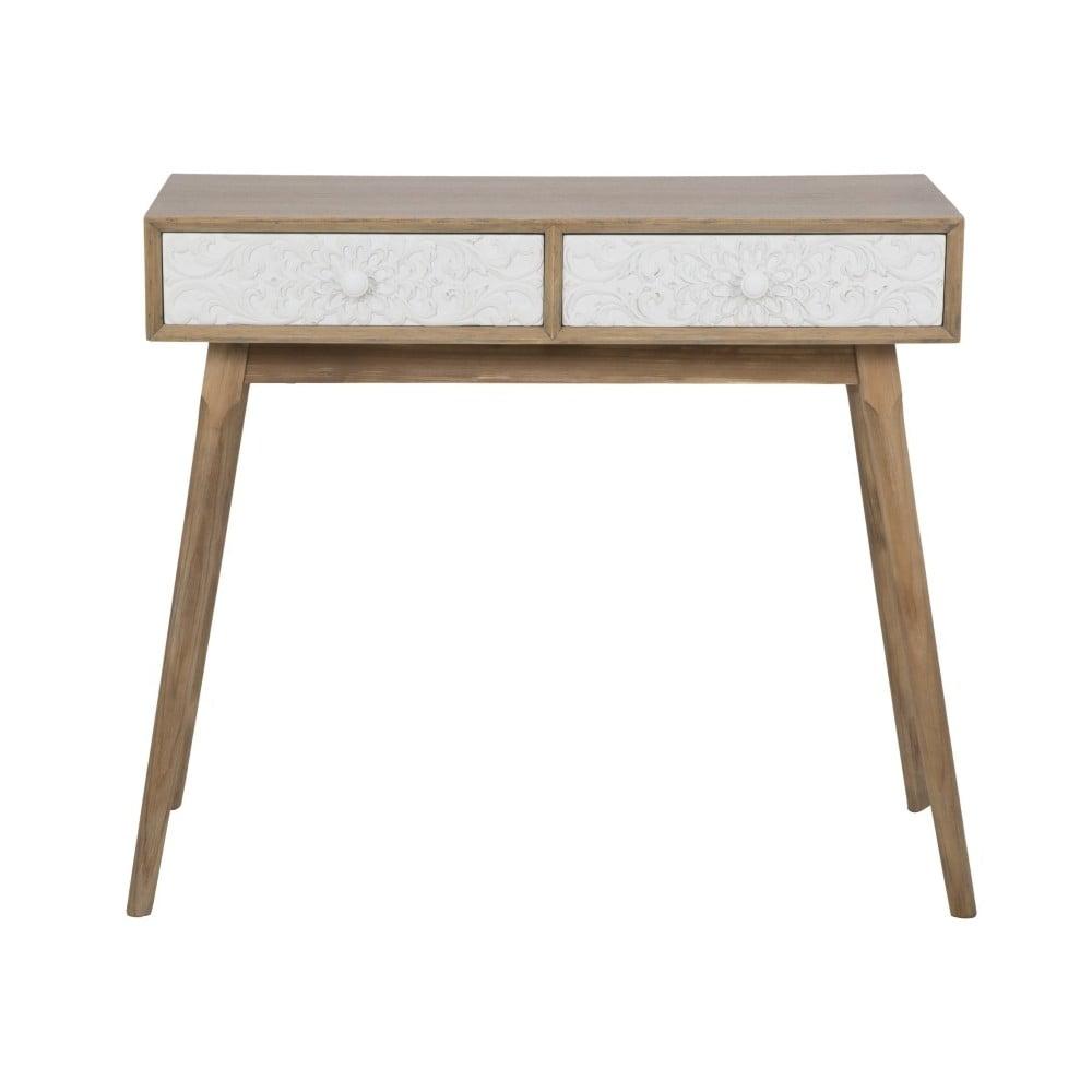 Konzolový stolek se 2 zásuvkami Mauro Ferretti Tribe